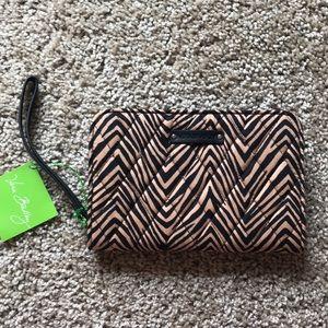 NWT Vera Bradley zip around wallet